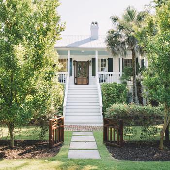 exterior of south carolina beach house