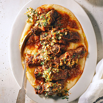 Beef Braciole with Olives and Raisins recipe