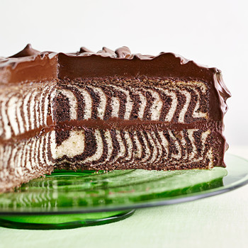 Grasshopper Dome Ice Cream Cake
