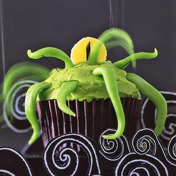 creepcake cupcakes seamonster
