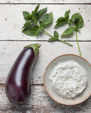 What to Make with: Eggplant, Basil, and Cheese