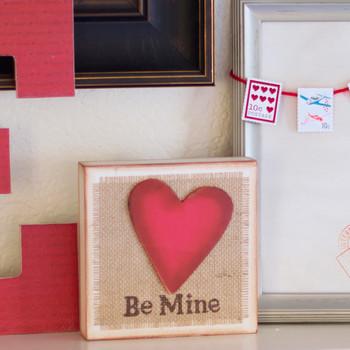 Decoupage Valentine Love Letters