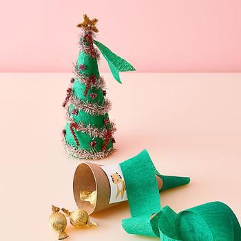 christmas tree surprise cone