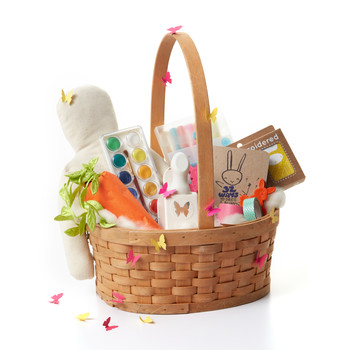 Easter baskets martha stewart 12 creative and colorful easter basket ideas for girls negle Gallery