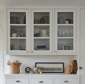 fire island home tour kitchen cabinets