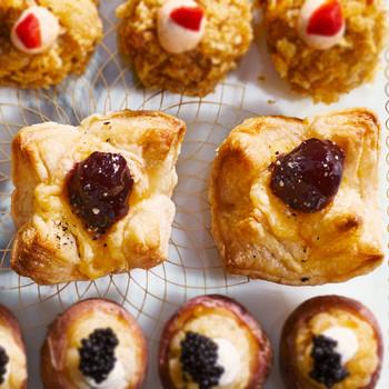 Gooey Gouda Puff-Pastry Bites recipe
