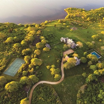 Jacqueline Kennedy Onassis's estate at Martha's Vineyard