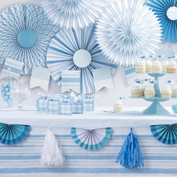 celebrations crafts blue ombre
