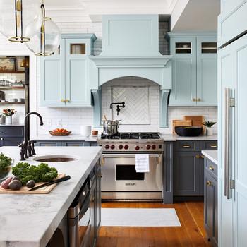kitchen renovation paint stainless steel range