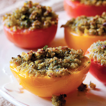 Provencal Stuffed Tomatoes