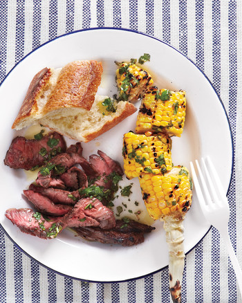 Grilled Pepper-Crusted Sirloin