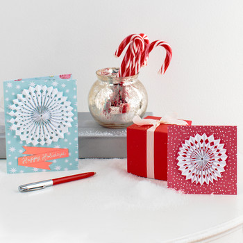 3-D Snowflake Cards