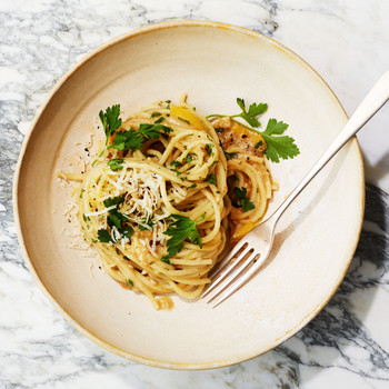 Anchovy and Preserved-Lemon Pasta