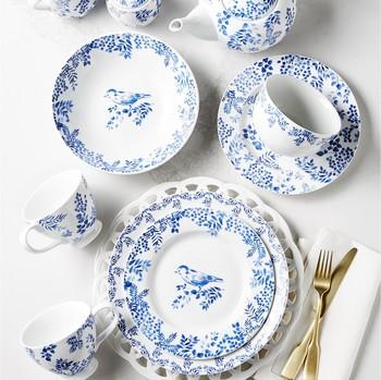 Martha Stewart Collection English Garden 12-Piece Dinnerware Set