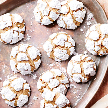 Lemony Brown-Butter Crinkle Cookies
