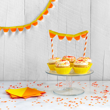 Candy Corn Halloween Garland
