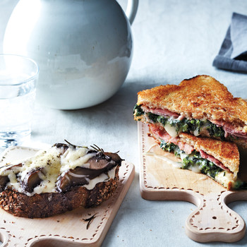 Grilled Ham-and-Broccoli-Rabe Sandwiches