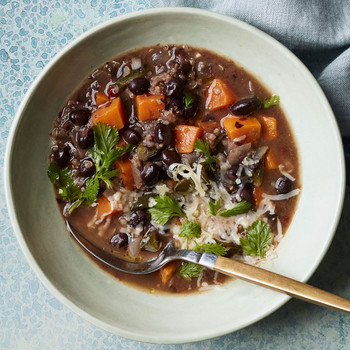 Black-Bean and Sweet-Potato Stew recipe