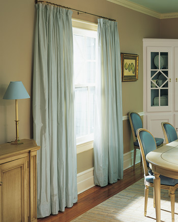 Lovely asian Style Window Treatments