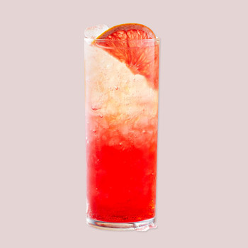 grapefruit sanbitter spritz mocktail