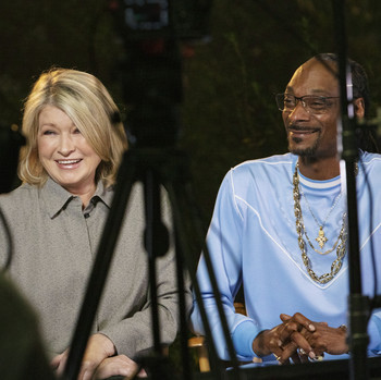 Martha and Snoop Tostitos Commercial Behind the Scenes
