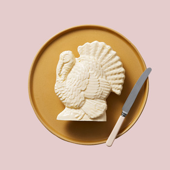 butter sculpted turkey