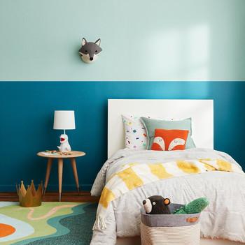 cohesive kids room paint colors