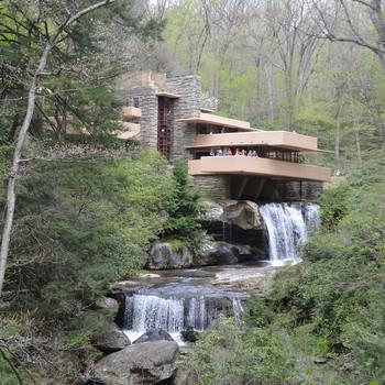 frank lloyd wright fallingwater building