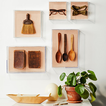 hanging wall decorations heirlooms in shadow boxes