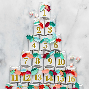 Gift Box Advent Calendar Tree