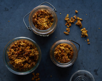 Pumpkin-Turmeric Granola
