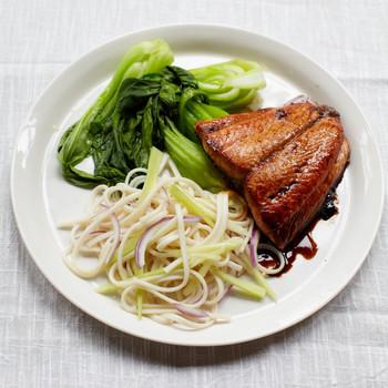 Soy-Sesame Salmon