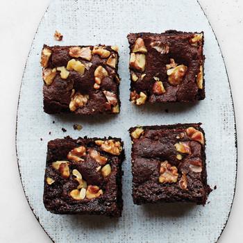 Chocolate-Walnut Brownies