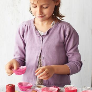 kids making chocolate tortoises