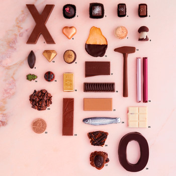 DIY Chocolate Sampler for Valentine's Day