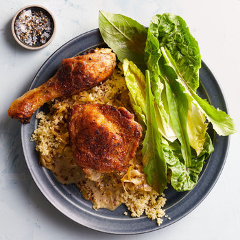 Creamy Mustard Chicken with Couscous