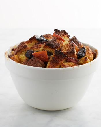Leek and Gruyere Bread Pudding