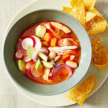 Chipotle Chicken and White-Bean Soup