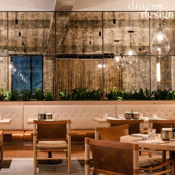 Malibu Farm, Dine + Design, Restaurant Interior