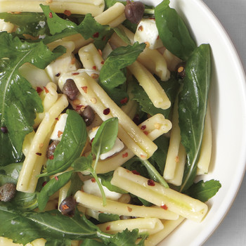 Pasta, Arugula, and Mozzarella Salad