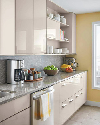 Home Depot Select Kitchen Style Beige Cabinets