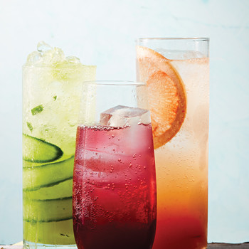 Pineapple-Cucumber Spritz