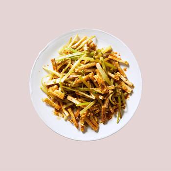 Tofu-Celery Stir-Fry