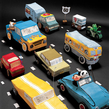 Papier Mache Vehicles