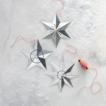 Dazzling Star-Shaped DIY Ornaments