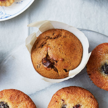Sweet-Potato and Chocolate-Chunk Muffins