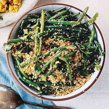 green bean quinoa salad