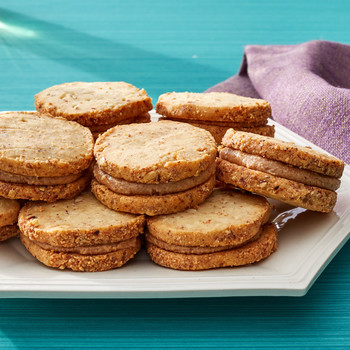 almond cookie sandwich martha bakes
