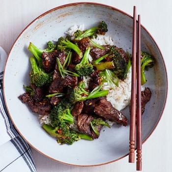 Beef and Broccoli with Black-Bean Garlic Sauce recipe