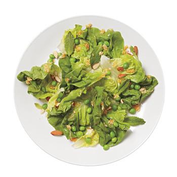 Salad with Citrus-Horseradish Dressing